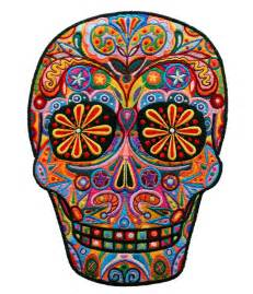 colorful sugar skull 127 best images about lessons dia de los muertos day
