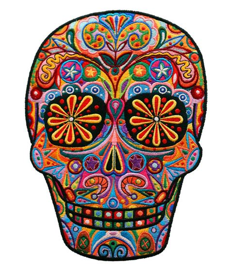 colorful skull tattoo designs mexico s day of the dead great celebration in mexico when