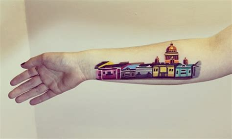 architecture tattoo 21 awesome architecturally inspired designs