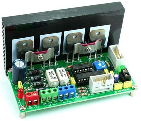 transistor driver stepper motor uni polar stepper motor driver using driver transistors l297 circuit ideas i projects i