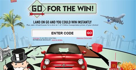 mcdonald s monopoly instant win game sweepstakes lots - Instant Win Mcdonalds Monopoly