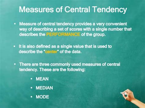 what does scow up mean mean median mode measures of central tendency