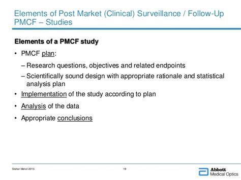 Post Market Surveillance Report Template Post Market Clinical Surveillance Experience Of The