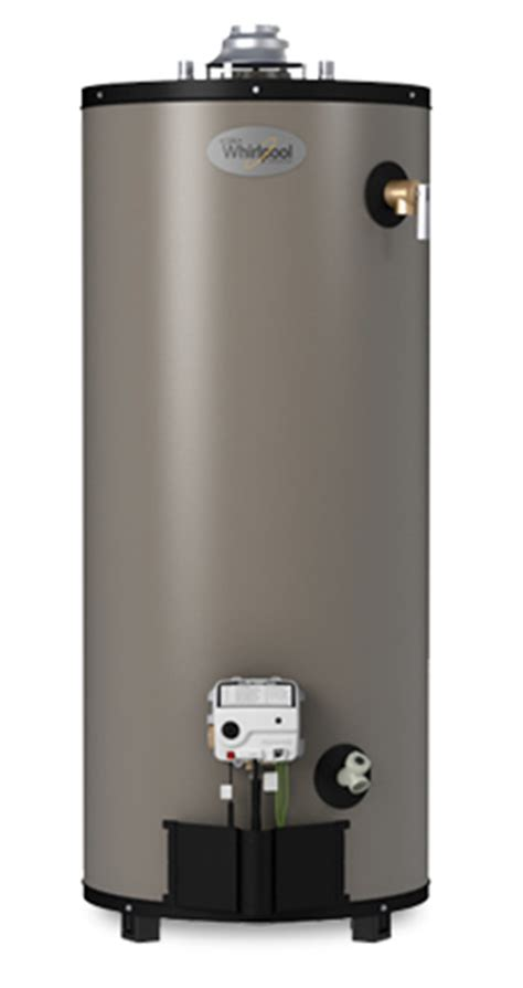 Tall Natural Gas Water Heater   Whirlpool 40T10 40NG   757281   40 Gallon Water Heater