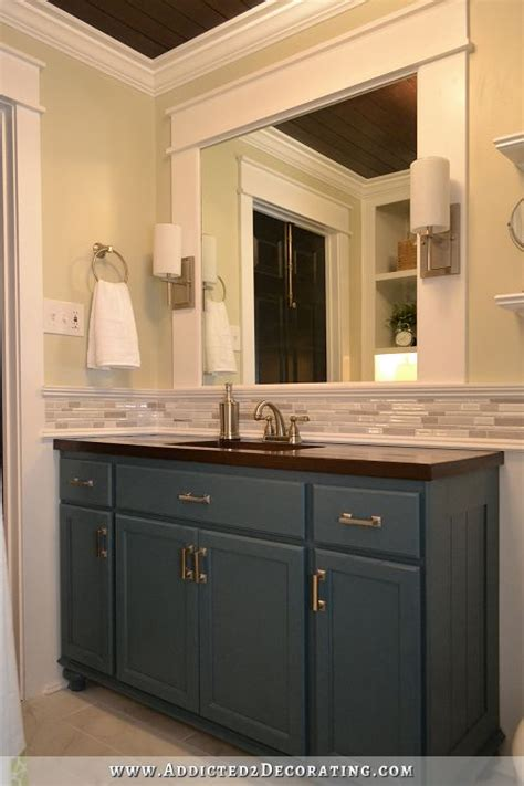 remodel bathroom cabinets diy bathroom remodel before after