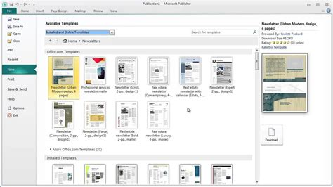 publisher templates for books unpacking the common tools found in desktop publishing