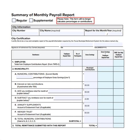 13 Monthly Report Templates Free Sles Exles Format Sle Templates Weekly Summary Report Template