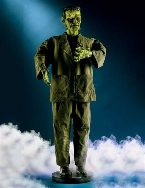 Green Vases And Bowls 5 Foot Tall Animated Frankenstein S Monster The Green Head