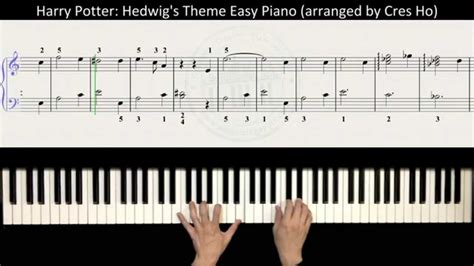 tutorial piano harry potter harry potter theme song piano sheet music printable