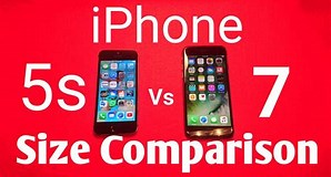 Image result for Compare iPhone 5s to 7