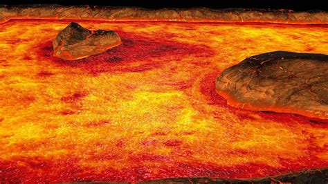 How Are Lava Ls Made by Real Time Lava Shader With Flow Speed Map