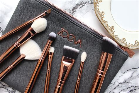 Zoefa Brush review zoeva gold vol 3 brush set bamblingsofnaffy