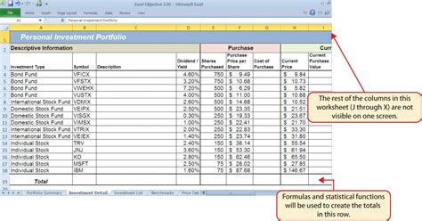 Rule 1 Investing Spreadsheet by Logical Functions