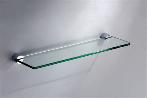 glass shelf bathroom decoration