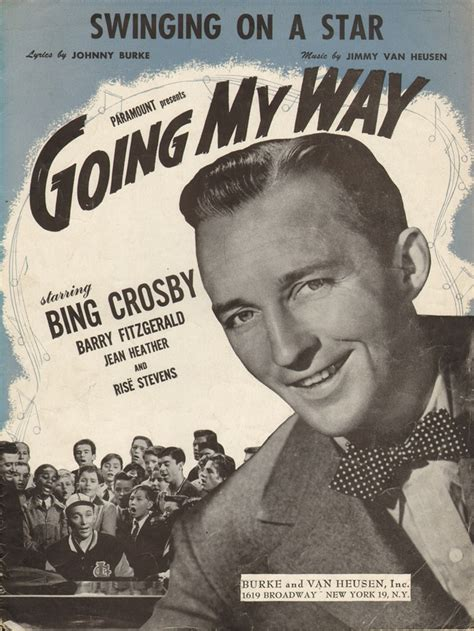 swinging on a star bing crosby 78 best images about der bingle on pinterest my way