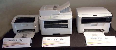 Fuji Xerox Docuprint M225z Printer Multifuntion fuji xerox targets 15 market launches docuprint monochrome and color printers upgrade
