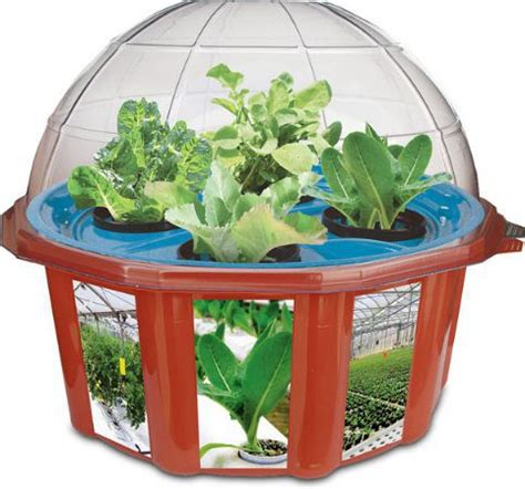 Hydroponic Garden Kit by Desktop Farming 10 Gadgets For Growing A Cubicle Garden