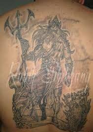 poseidon tattoo meaning poseidon trident symbol search lugares para