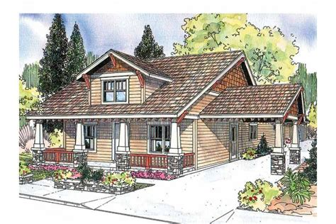 house plans with porte cochere craftsman with porte cochere hwbdo13281 craftsman from