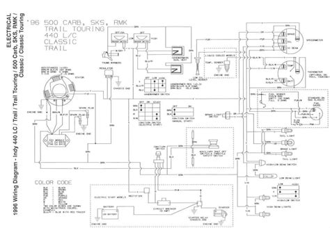96 polaris 500 sportsman wiring schematic polaris ranger