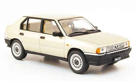 pego car alfa romeo 33 1 3 beige 1983 pego diecast model car 1 43