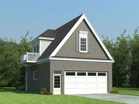 Detached Garage Designs by Garage Plans With Flex Space 2 Car Garage Loft Plan With