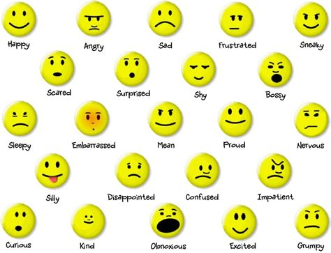 faces of emotion printable a better way to teach kids about emotions stress better