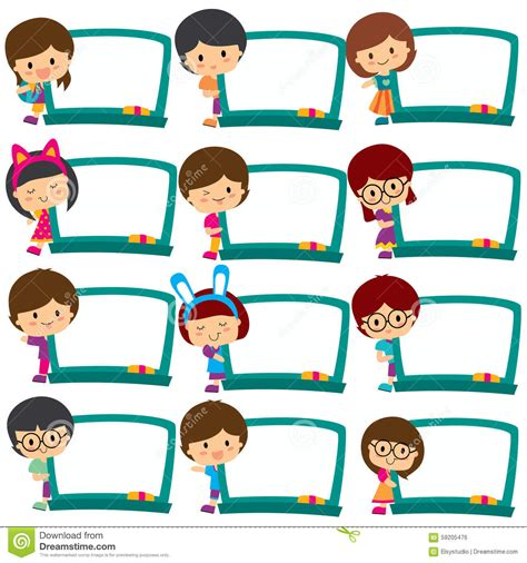 children clipart child clipart frame pencil and in color child clipart frame