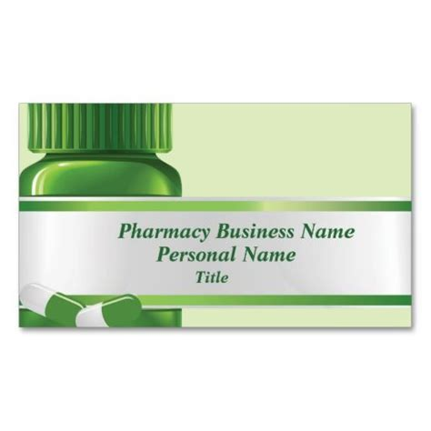 Pharmacy Business Card Template by Pharmacy Business Business Card Business Templates And