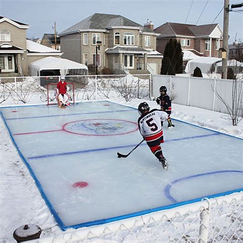 backyard rink rinks backyard rink
