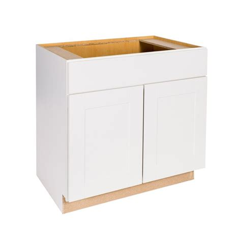 hton bay shaker cabinets hton bay princeton shaker assembled 36x34 5x24 in sink base cabinet in warm white bs36 pww