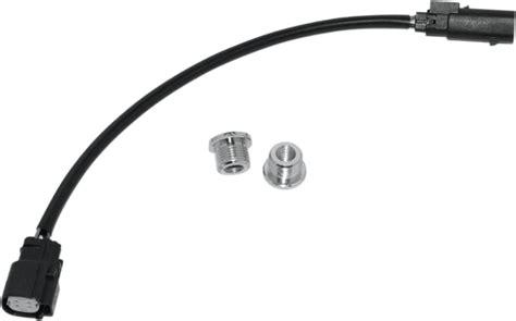 harley o2 sensor gasket namz black motorcycle o2 sensor harness extension bung