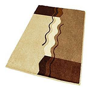 4 X 6 Bathroom Rugs Non Slip Brown Bath Rug Large 23 6 Quot X 39 4 Quot Home Kitchen