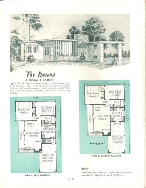 mid century ranch floor plans 17 best images about mid century floor plans on pinterest