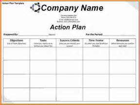 action plan template excel sales report template