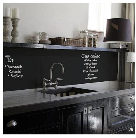 chalkboard backsplash chalkboard paint backsplash chalkboard paint pinterest