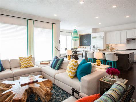 living room kitchen open concept decosee com 15 open concept kitchens and living spaces with flow hgtv