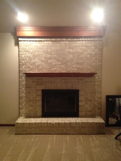 Spray Paint Fireplace by Fireplace After Brass Fireplace Insert Lightly Sanded