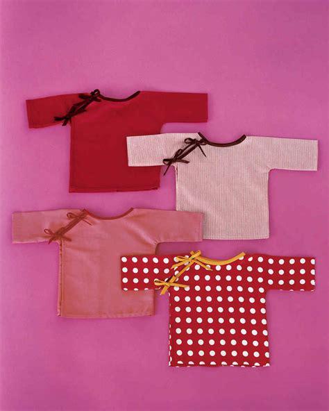 baby kimono pattern martha stewart baby kimonos martha stewart