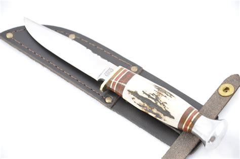 sheath knives uk 4 sheath knife stag tang the sheffield cutlery shop