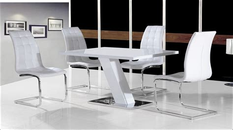Kitchen Table White White High Gloss Kitchen Table And Chairs Kitchen Ideas And Design Gallery