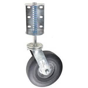gate wheel lowes heavy duty gate wheel with suspension gempler s