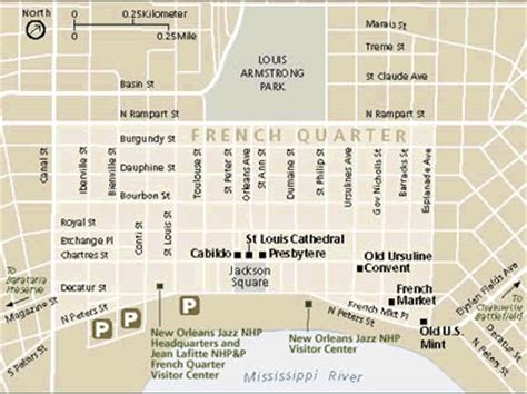 map new orleans jazz directions new orleans jazz national historical park u