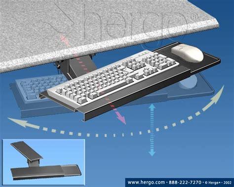 Swivel Keyboard Tray Desk by Computer Furniture