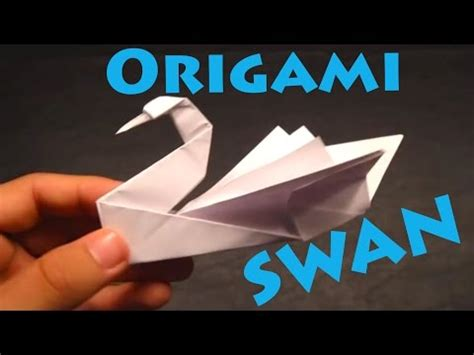 Origami Crane Lyrics - how to make an origami swan intermediate rob s world