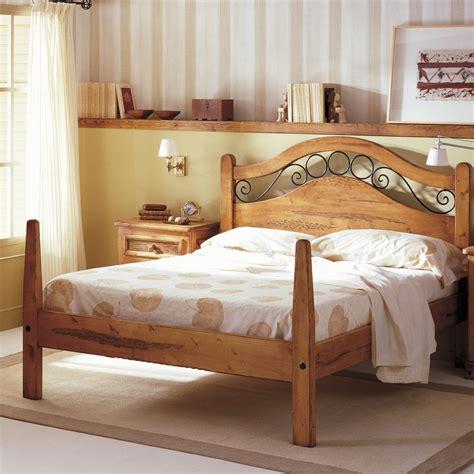 camas rusticas camas en madera rustica buscar  google