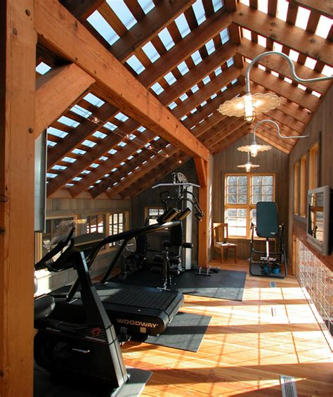 home idea wood home gym decor ideas