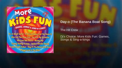 banana boat song youtube day o the banana boat song youtube