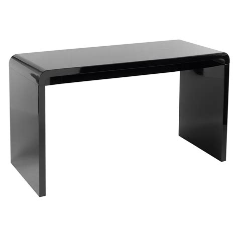 black desk hudson desk black dwell