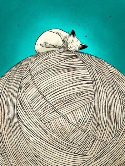 Peinture Tableau Noir 2882 by Jillian Tamaki Cat I Chats Tableau